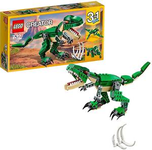 Lego-31058-Creator-1-en-3-modele-Puissant-Dinosaures-T-Rex-Kids-emballages-endommages