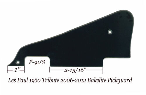 Les Paul LP 1960/'s Bakelite Pickguard W//Bracket for Gibson Epiphone Project NEW