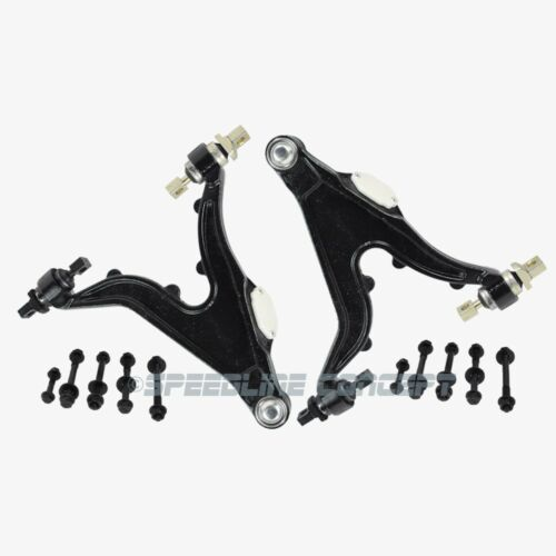 4-Bolt Pattern Volvo Front Lower Control Arm Left /& Right Premium KM 2336//2337