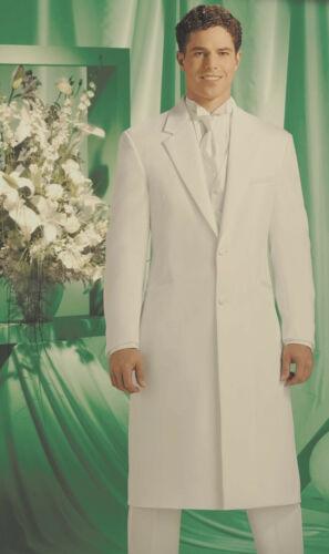 Pants 36 Regular Andrew Fezza Full Length Ivory Off-White Frock Tuxedo Coat