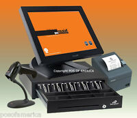 Posiflex Pos Maid For Retail All-in-one Station Complete Bundle