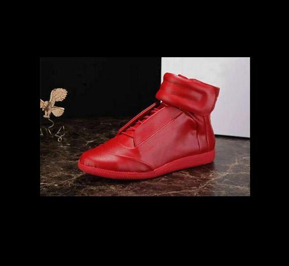 Hombres Zapatos botas Informales De Moda Alto Top Zapatillas Running Zapatos Casuales Zapatos Talla