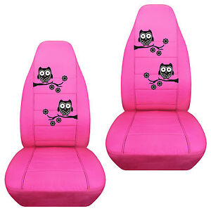 Image Is Loading Nice Set Owl Design Front Car Seat Covers