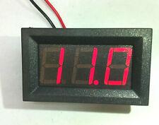 Voltmetro digitale DC 3-30V Led Rosso tensione tester pannello auto moto camper