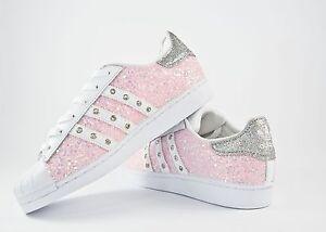 adidas superstar glitter scarpe