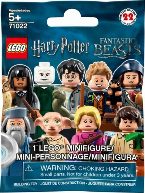 Lego Mini figures 71022 Blind Pack New. Harry Potter. Unopened