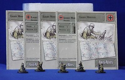 Axis /& Allies Miniatures United States Base Set 1 Lot of 4 Set 2