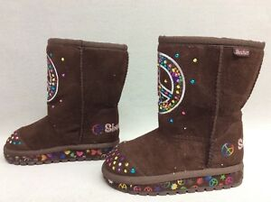 Twinkle Toes Keepsakes Boots Brown