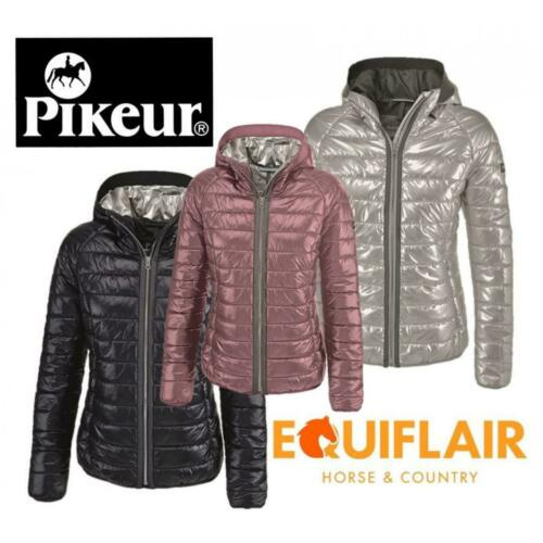 Pikeur Hariet Quilted Jacket with Attached Hood