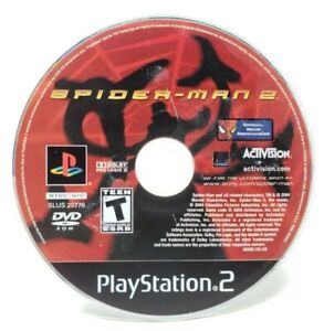 Spider-Man-2-Sony-PlayStation-2-PS2-Game-Only