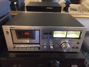 Vintage-Akai-GXC-704D-Stereo-Cassette-Deck