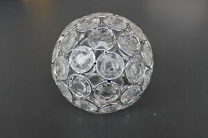 Glas lampenschirm ersatzglas kugel transparent kristall g lochmaß