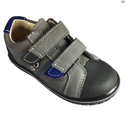 A Boys Navy Geox B Tutim B White Suede Leather Infant Shoes Size 19 20 21 22