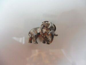 Schone-alte-Silberfigur-Elefant-925-Silber-kleine-Silber-Figur-Anhanger