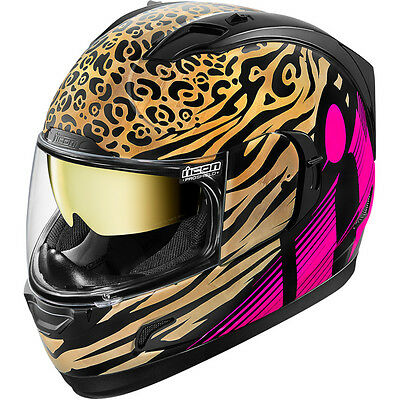 Icon Shaguar Alliance GT Full Face Motorcycle Helmet - Choose Size