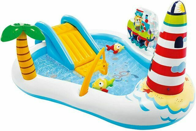 Intex 57162NP Inflatable Fishing Fun Play Center for sale online
