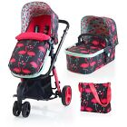 Cosatto Giggle 2 Pushchair 3 in 1 Travel System Flamingo Fling CT2971