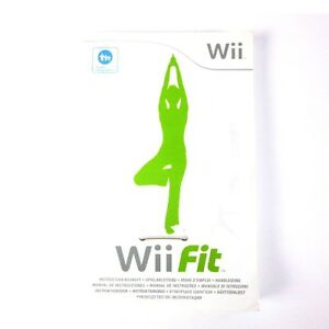 original instruction manual for nintendo wii game fit without the rh ebay com au Nintendo Wii Directions Wii User Guide