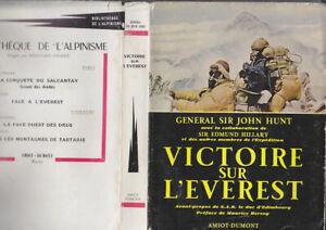 Acheter Pas Cher C1 Montagne Hunt Hillary Victoire Sur L Everest 1953 Jaquette Bon Etat Himalaya Des Biens De Chaque Description Sont Disponibles