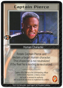 Babylon 5 CCG Psi-Corps Promo Card A Meeting of Minds M//NM Mint//Near Mint