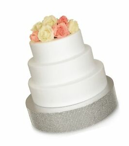 Details About Bling Wedding Cake Stand Cupcake Base Dessert Serving Plate Centerpiece