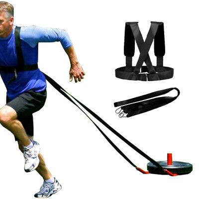 Fitness Sport Hüftgurt Sprintgurt mit Schultergurt Sprintgürtel Speed Gürtel