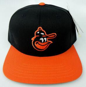 BALTIMORE-ORIOLES-MLB-VINTAGE-SNAPBACK-RETRO-2-TONE-CAP-HAT-NWT-AMERICAN-NEEDLE