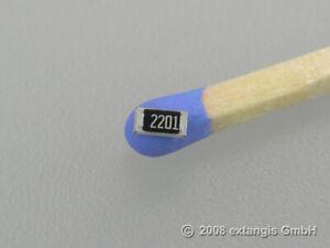 50x SMD 1206 2k2 0,25 Watt 1% Metallfilm Präzison Widerstand resistor ohm