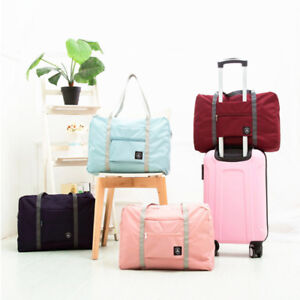 Foldable-Travel-Storage-Luggage-Carry-on-Organizer-Hand-Shoulder-Duffle-Bags