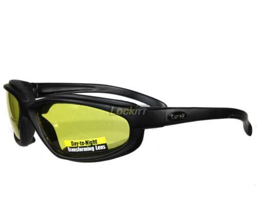 Yellow EKS Brand Gox Adult Zip Off Anti-Fog Rain Goggle Replacement Lens