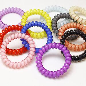 3XRessort,Bracelet,Elastique,Fil,Telephone,Accessoire,Cheveux,Bande,