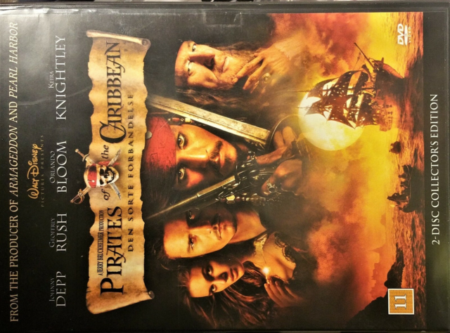 Pirates of the Caribbean 2 DVD!, instruktør Gore Verbinski,…