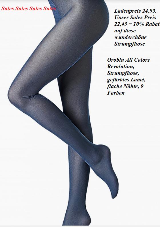 Orolbu All Colors Revolution, semi-blickdicht, gefärbtes Lamé, stark glänzend