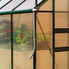 Greenhouse Rainwater Gutter Kit. Downpipe Directs Water in to Garden Water Butt.