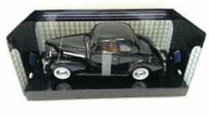 Chevrolet-Coupe-1939-Black-Classic-Metal-Model-Car-Motormax-1-24