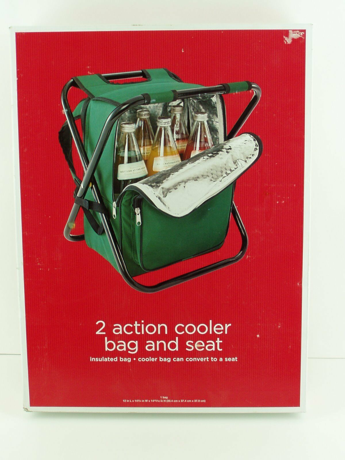 2 Action Cooler Bag And Seat, Insulated Bag, Cooler Bag  Congreens To A Seat  customers first