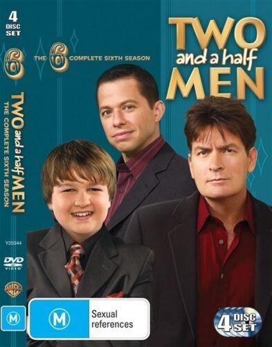 1 of 1 - Two And A Half Men : Season 6 (DVD, 2010, 4-Disc Set) Region 4
