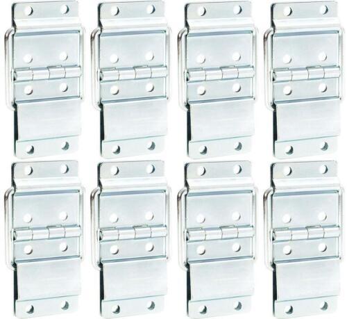 8 x Feststellscharnier gross 90 x 50 mm Scharnier Deckelfeststeller verzinkt NEU