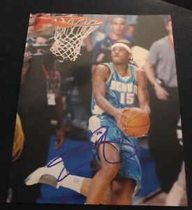 CARMELO-ANTHONY-SIGNED-8X10-PHOTO-DENVER-NUGGETS-OKC-NYK-W-COA-PROOF-RARE-WOW