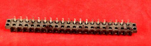 Cinch Jones Barrier Type Terminal Strip 20 Position W// Solder Lugs 0.41 1 ea
