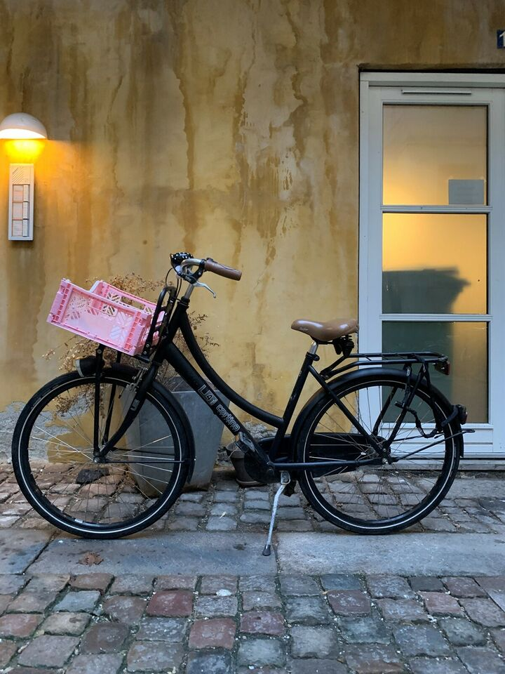 Pigecykel, classic cykel, 24 tommer hjul