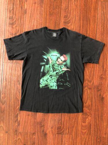 Vintage 1995 The Riddler T-Shirt Size XL DC Comics