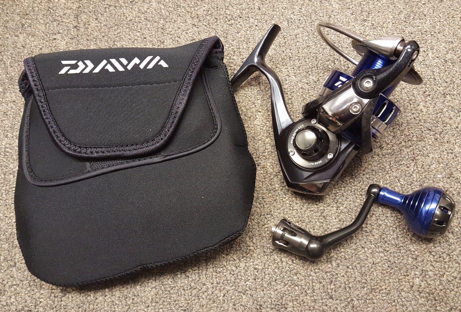 Daiwa Saltiga 4000H G 5.7:1 Left/Right Hand Spinning Fishing Reel - SALTIGA4000H
