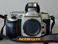 Nikon N60 35mm SLR film camera body.