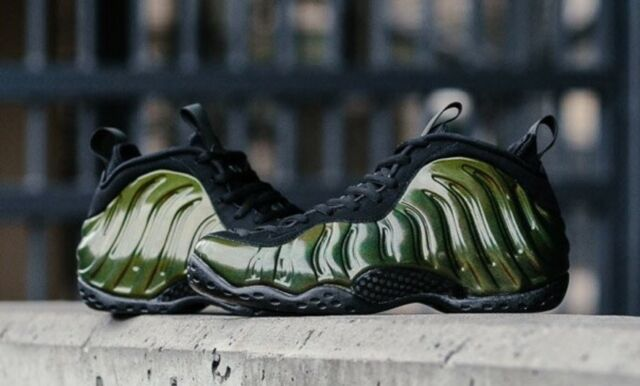 5e7c231afed Nike Air Foamposite One 1 314996-301 Legion Green Black DS Size 11.5 ...