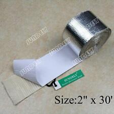 Qlkylin Reinforced Tape Heat Shield Adhesive Backed Resistant Wrap Intake Gold