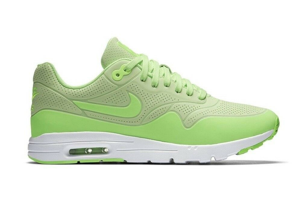 Nike Women's Air Max 1 Ultra Moire shoes NEW AUTHENTIC Ghost Green 704995-302