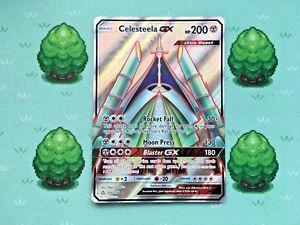 Celesteela GX Full Art NM Ultra Prism 144//156 Pokemon TCG