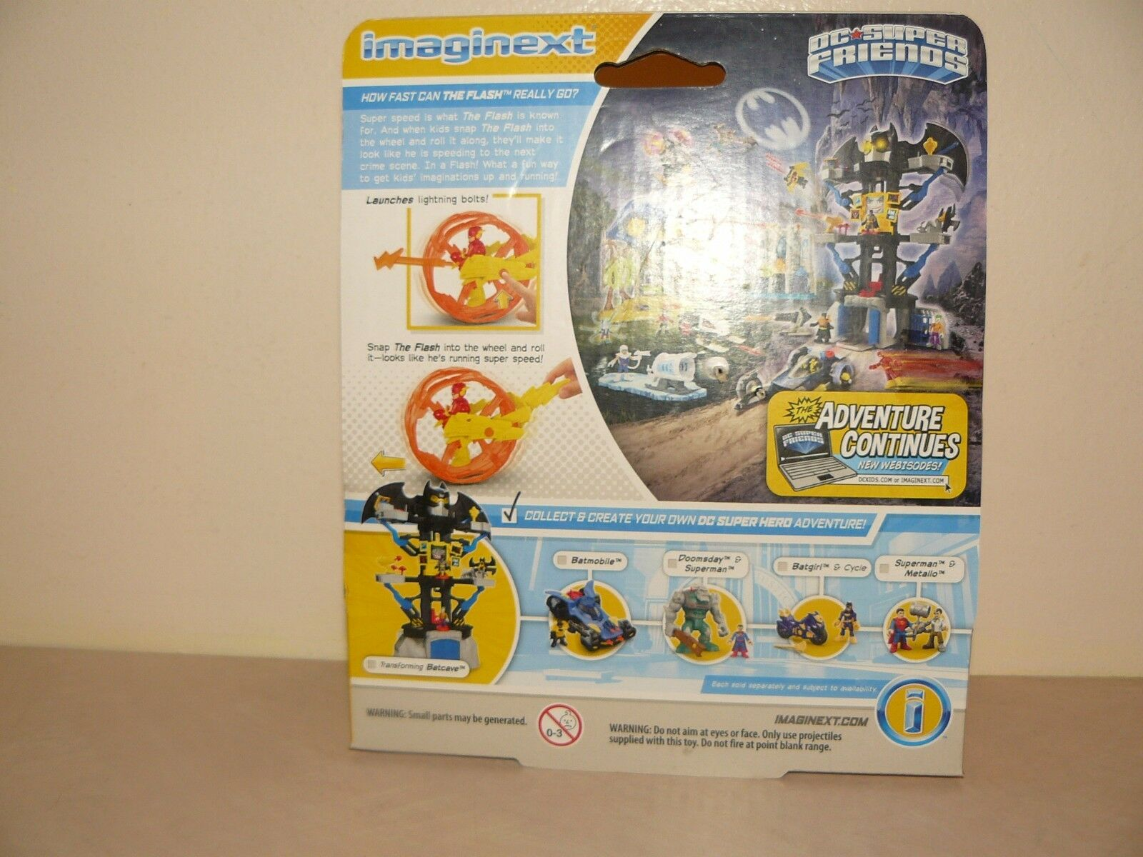 Imaginext DC Super Friends The Flash With With With The Wheel 5810e2