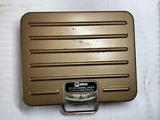 Pelouze 250 Lb General Utility Scale Metal P250 Bronzegold Color